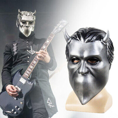 Ghost B.C. Rock Roll Band Cosplay Mask Nameless Ghoul Halloween Helmet Accessory](Halloween B Roll)