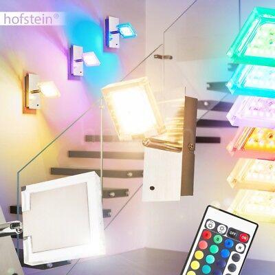 RGB LED Farbwechsler Wand Lampen Fernbedienung Wohn Schlaf Zimmer Beleuchtung
