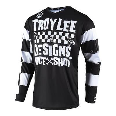 Troy Lee Designs 2019 GP Jersey Race Shop 5000 Black Mens All Sizes