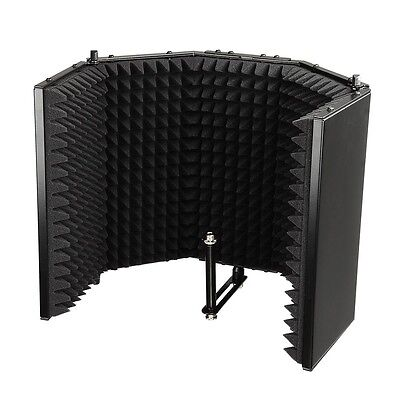 Reflexion Filter Mic Recording Studio Home Microphone Isolator Panel Vocal Booth