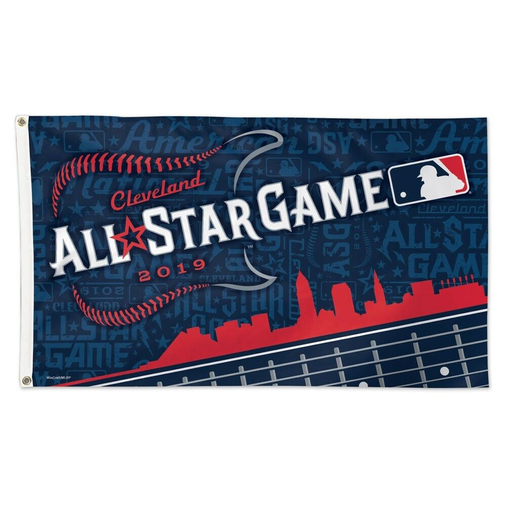 2019 ALL STAR GAME CLEVELAND INDIANS CLEVELAND OHIO 3'X5' DE