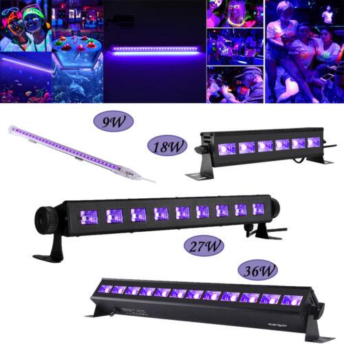 Black Light Bar UV LED 9W 18W 27W 36W Blacklight Party Club