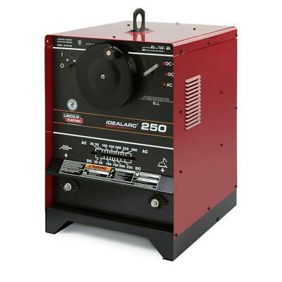 Lincoln Idealarc 250 With Power Factor Capacitors Acdc Stick Welder K1053-9