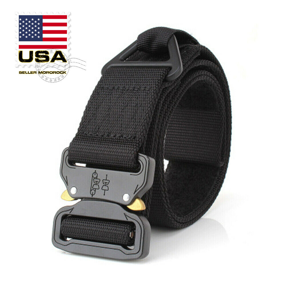 Tactical Rigger Belt Nylon Adjustable Quick Release Buckle M