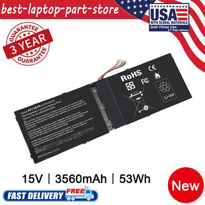 Laptop Ultrabook Battery for Acer Aspire V5 R7-571 R7-572 AP13B3K fast shipping