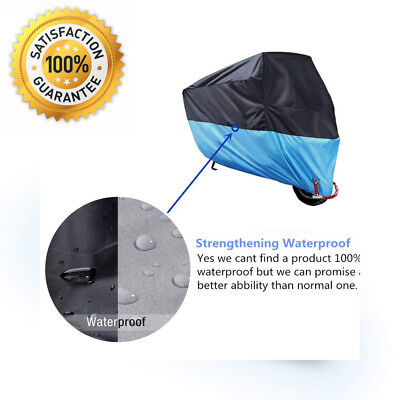 MONOJOY Motorcycle Motorbike Cover Scooter Protector Outdoor Large Rain...