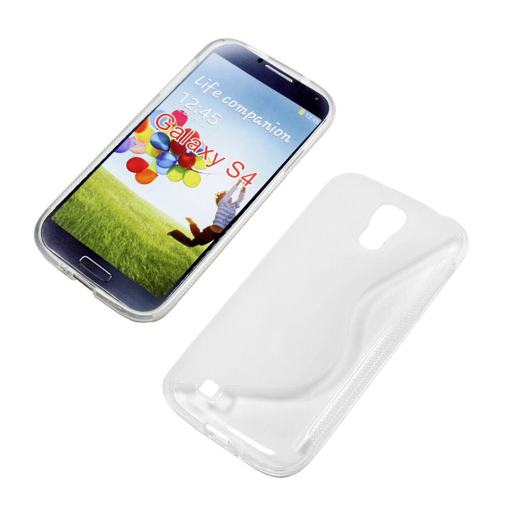 housse etui coque silicone gel transparent samsung galaxy s4 ebay. Black Bedroom Furniture Sets. Home Design Ideas