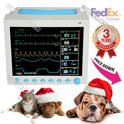 Us Sellerveterinaryanimal Icu Patient Monitor Ecgnibpspo2resptemppr Fda