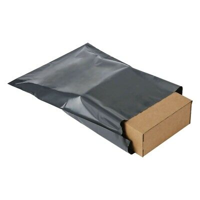 Grey Strong Mailing Bags Plastic Postal Mail Postage Mailing Sacks 50 Pieces