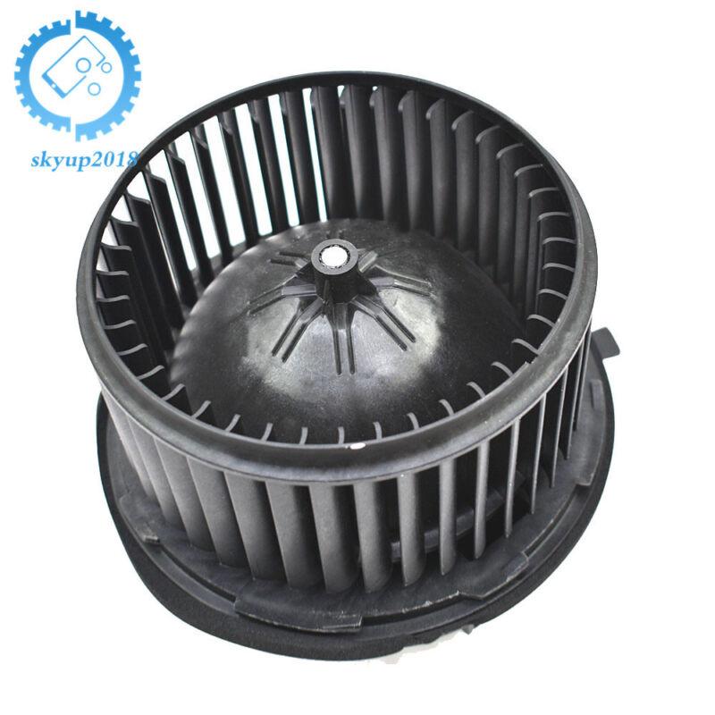 AC Heater Blower Motor & Fan Cage For Chevy Silverado GMC Sierra 1500 2500 3500