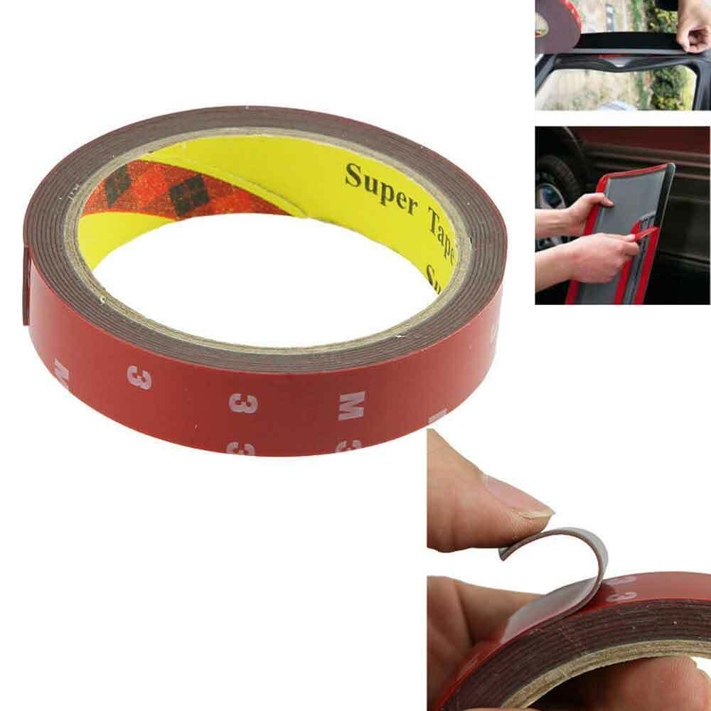 Auto Truck Car Acrylic FOAM TAPE Adhesive 3m x 20mm Double Sided Attachment NEW Adhesives & Tape