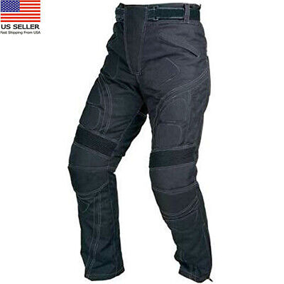 Mens Motorcycle Cordura Textile Waterproof Trousers Protective Thermal Pant Cordura Motorcycle Pants