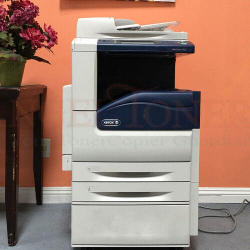 Xerox Workcentre 7225 Multi Function Laser Printer Scanner Copier Fax Less 50k