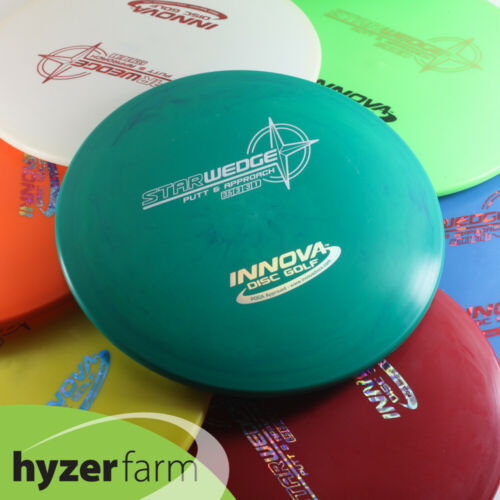 Innova STAR WEDGE  *pick your weight and color* Hyzer Farm disc golf putter