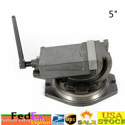 5 Clamp Vise Precision Milling Vise 2way Accessory Set 90 Tilting Tool
