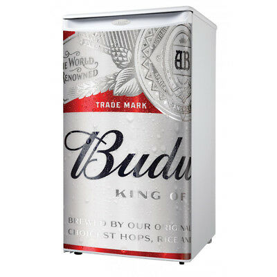 Danby Budweiser Logo Beer Compact Mini Mancave Bar Dorm Home Fridge Refrigerator