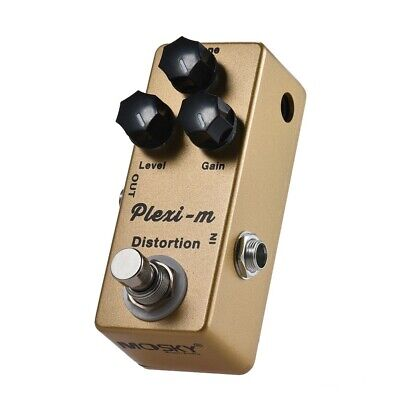 MOSKY Plexi-m Distortion Guitar Effects Pedal Full Metal Shell 3 -
