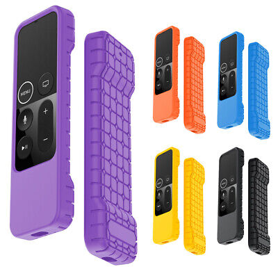 Dustproof Silicone Full Case Cover For Apple TV 4K 4 Gen Siri Remote Controller