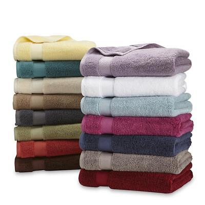 Bath Hand Towel Washcloth Egyptian Cotton Superior Softness Absorb Soft Dry Off
