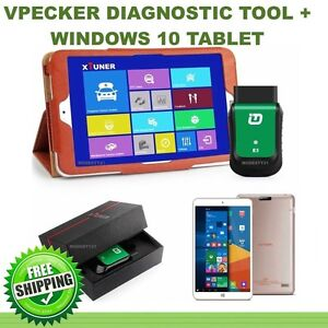 VPECKER Easydiag 2017 Diagnostic Scanner + Win10 Tablet OBD2 OBDI St Marys Penrith Area Preview