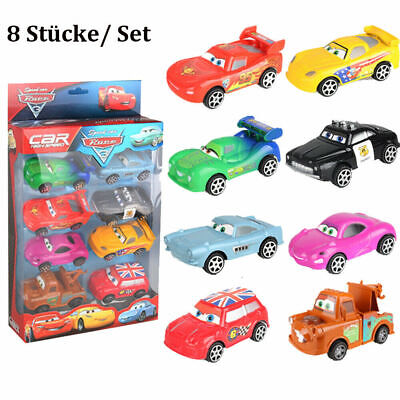 Simpson 8 (8x Mattel Disney Pixar Cars Friends of Radiator Springs 1 Spielzeug Autos 1:55)