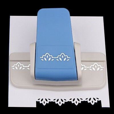 Border Punch Flower Embossing Punch Scrapbooking Paper Cutter 12*8.6*5cm (Embossing Scrapbooking Punches)