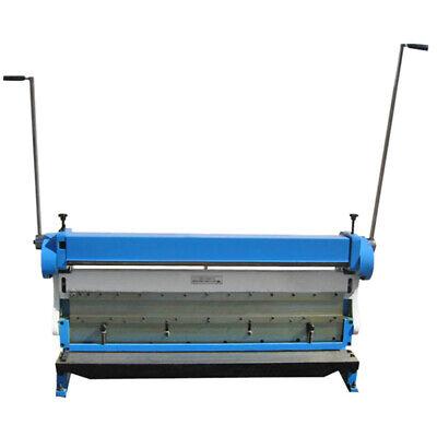 Industrial 52 X 16 Gauge Sheet Metal Brake Bender Slip Roll Shear 3-in-1