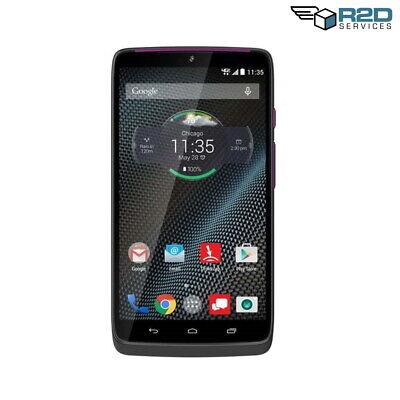 Motorola Droid Turbo - Grey with Metallic Purple accents - 32GB - (Verizon)