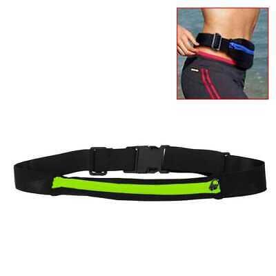 Riñonera Deportiva Bolsa Individual Simple Cintura Running Sport Cinturon Verde