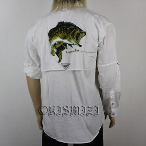 New mens columbia pfg bonehead graphic long sleeve fishing for Men s columbia fishing shirts