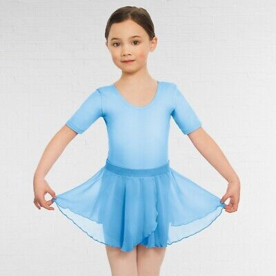 Eurotard Pull On Skirt - Childs Eurotard Pull On Georgette Ballet Dance Skirt