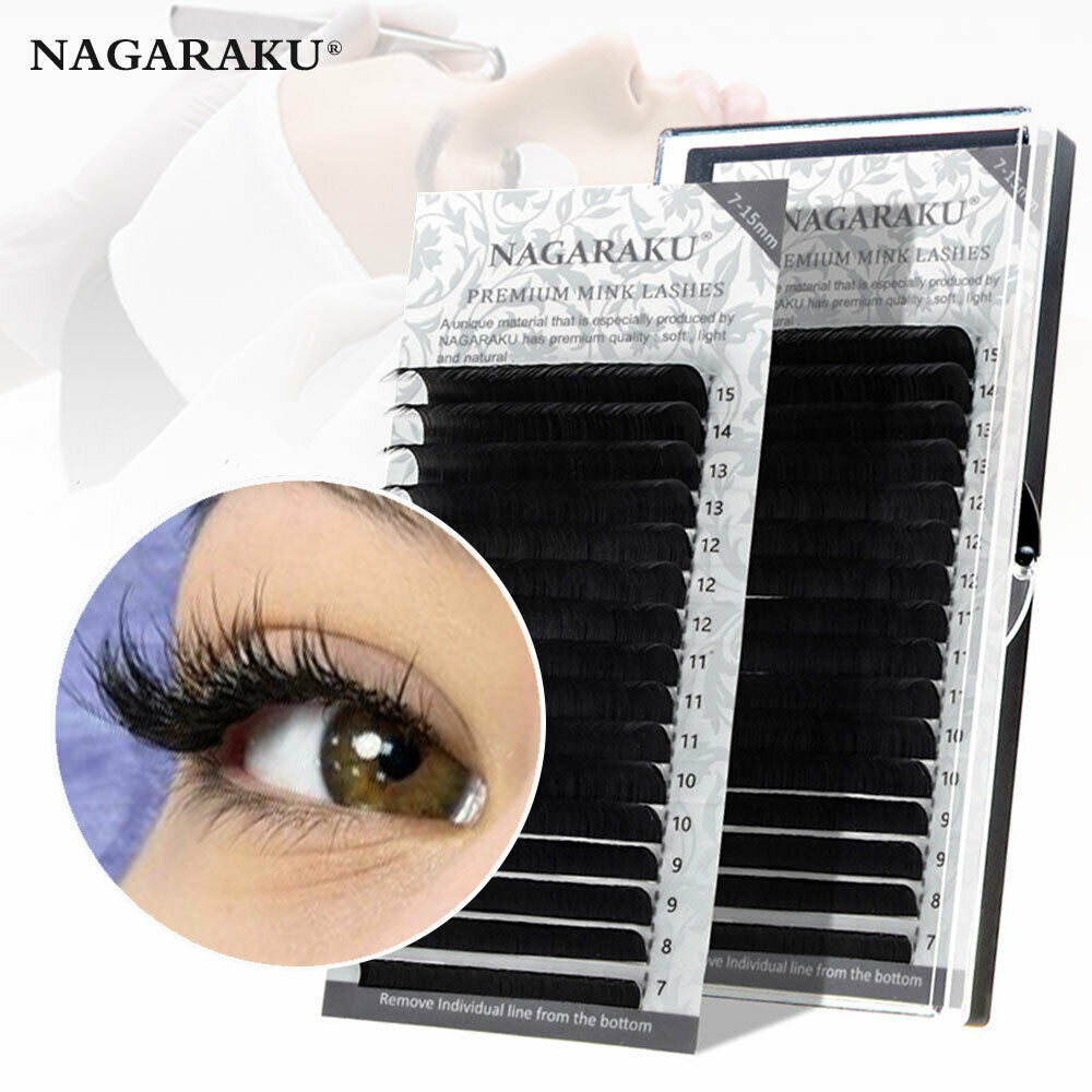 NAGARAKU Mink Mix Length Natural False Eyelashes Individual
