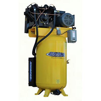 Emax Esp07v080v1 7.5 Hp 80 Gal. Vertical Stationary Electric Air Compressor New