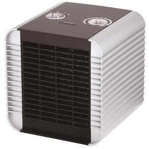 King Electric PH-16 1500-watt Portable Ceramic Comfort Cube Heater, black
