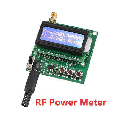 Led Digital Display 1m-8g Rf Power Meter -60 To -5dbm Signal Strength Module