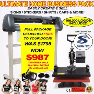 Sign / Sticker / Shirt / Cap Making Package - GREAT HOME BUSINESS