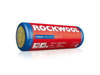 Rockwool Roll Thermal Insulation Roll Twin Floor Loft Insulation | 100mm 150mm