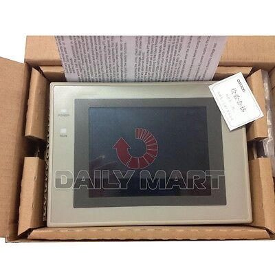 Omron 5.7 Touch Screen Hmi Nt31-st123-ev3-qr New In Box Nib Free Ship