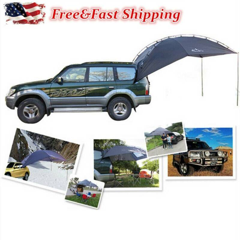 New SUV Outdoor Camping Canopy Car Rear Tent Awning Sun Shel