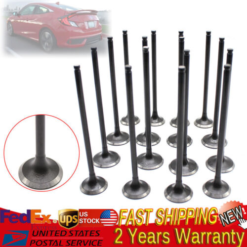 Intake Exhaust Engine Valves kit For Honda Civic 1.6L 1.7L SOHC 1992-2005