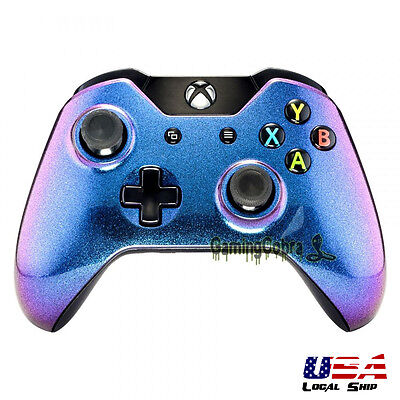 Glossy Chameleon Remote Controller Top Shell Replacement Kits for Xbox One