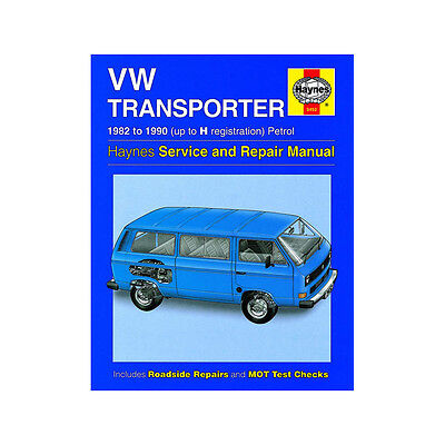 VW Transporter Water Cooled 1.9 2.1 Petrol 82-90 (up to H Reg) Haynes Manual