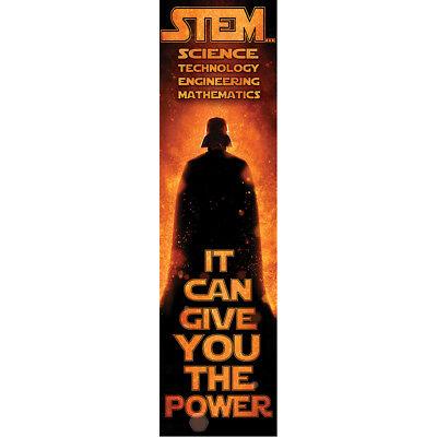EU849276 STEM Science Technology Math Star Wars Banner Classroom Decorations