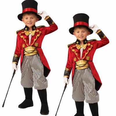 Kinder Jungen Zirkusdirektor Kostüm The Greatest Showman Zirkus - Kind Zirkusdirektor Kostüme