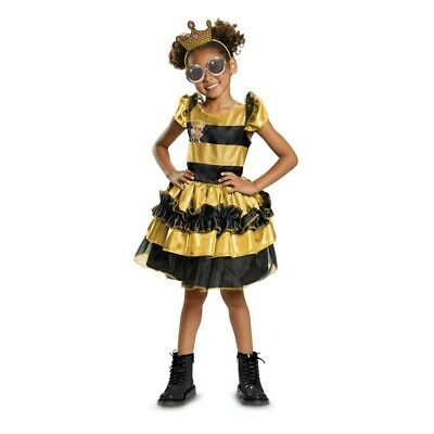 L.O.L. Surprise Doll Deluxe Queen Bee Child Costume, 10577, Disguise](Queen Costume Child)