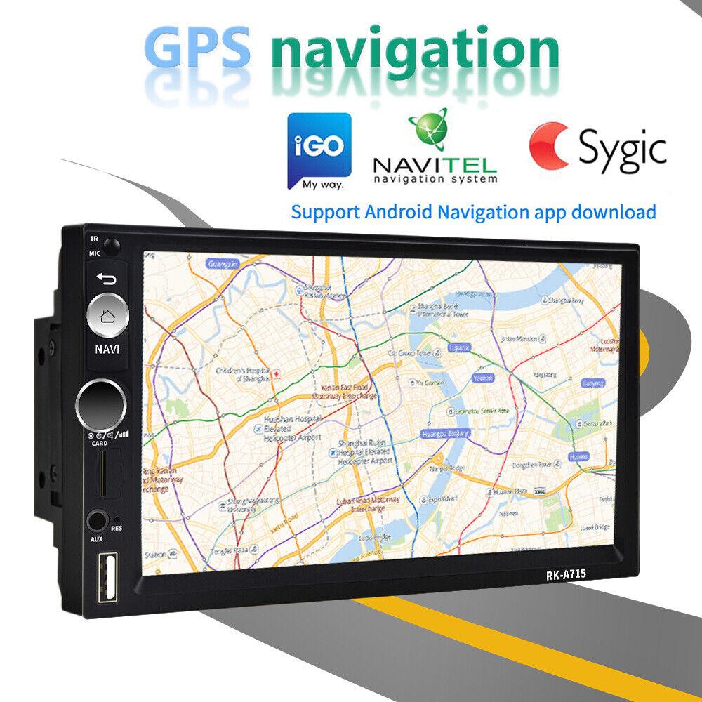 Rahmen Android 8.1 Autoradio mit GPS Navigation NAVI BLUETOOTH USB Doppel 2DIN