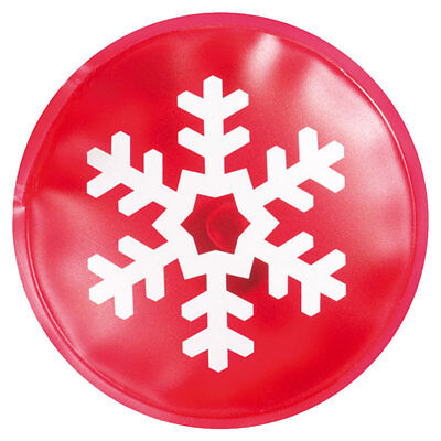 Instant Hand Warmers (Reusable Snowflake Christmas Hand Warmers - Instant Heat Packs Winter Red Hot UK)