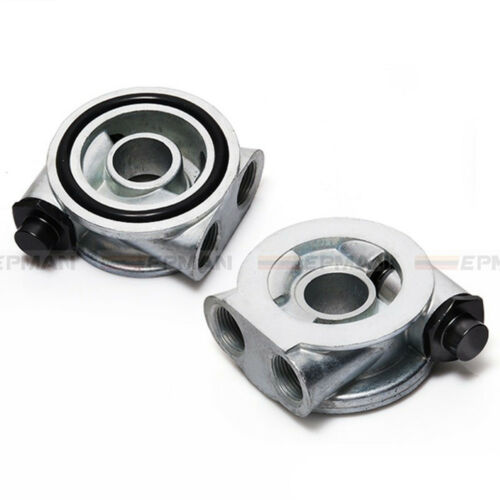 M22x1.5mm Racing Rally Motorsport Oil Cooler Thermostatic Sandwich Plate Adapter