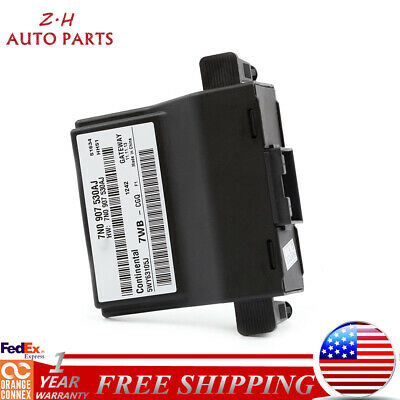 Can Bus Control Gateway Unit 7N0907530AJ Fit For VW Jetta Passat Tiguan RCD510