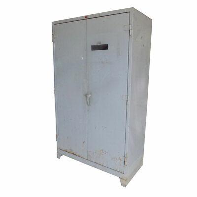 Lyon 1120 Gray 48w X 24d X 82h Heavy-duty 14ga Strong Steel Storage Cabinet